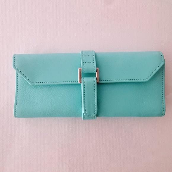 407f626f3f6 Tiffany   Co. Leather Travel Jewelry Case. M 5c8a75a31b32943f23bcdfee